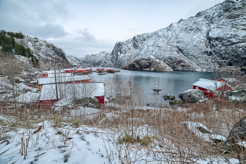 NIKON D700 @ 14mm, 4 sec., f/8, 200 ISO, 2015;Europe;Norway;lofoten islands